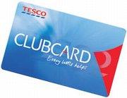 A Tesco Clubcard