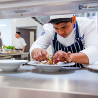 Fancy a cheap fine dining three-course meal cooked by students?