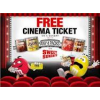 'Free' Cineworld ticket