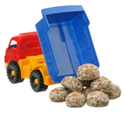 Toy digger truck